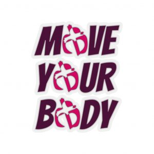 Move Your Body Stickers